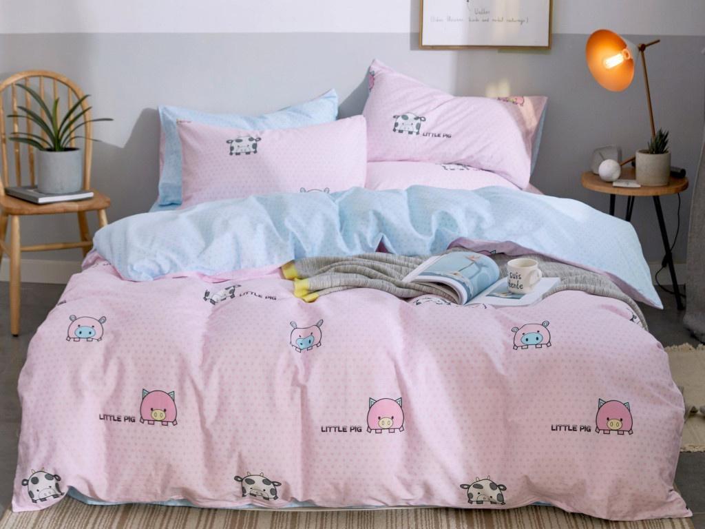 Постельное белье Relance Д37 Комплект 1.5 спальный Сатин