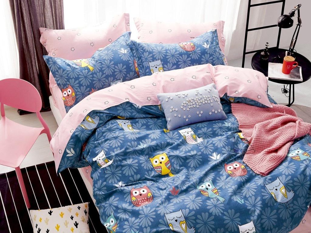 Постельное белье Relance Д43 Комплект 1.5 спальный Сатин