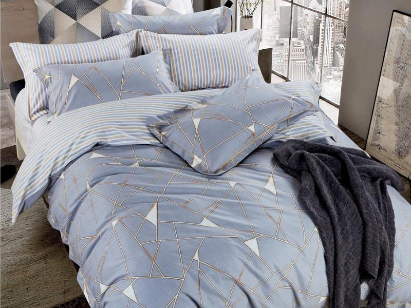 Постельное белье Relance Casse Комплект Евро Мако-сатин