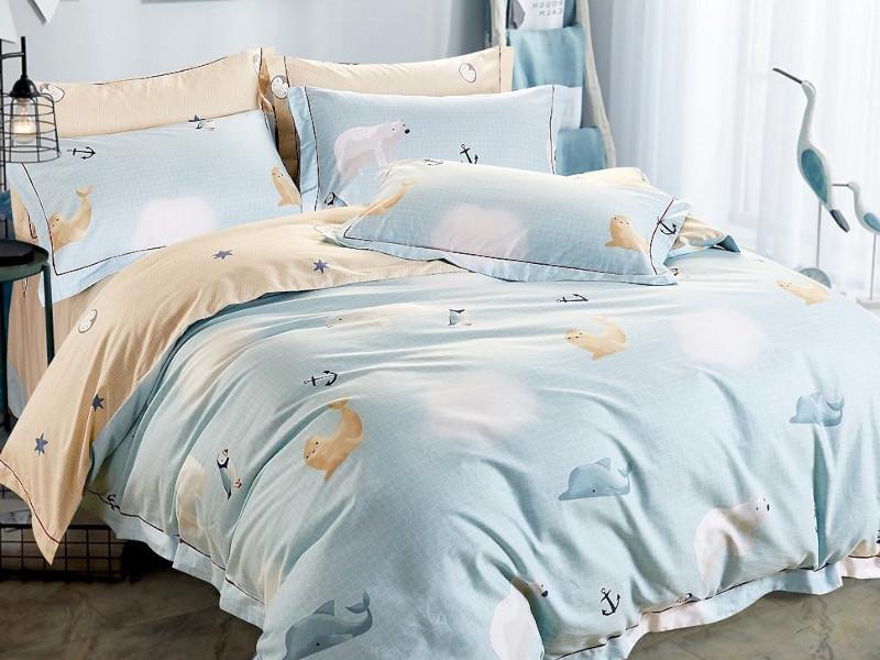 Постельное белье Relance Ocean Комплект 1.5 спальный Мако-сатин