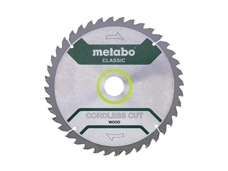 Диск Metabo Cordless Cut Classic пильный по дереву 216x30mmZ28 WZ5 628665000