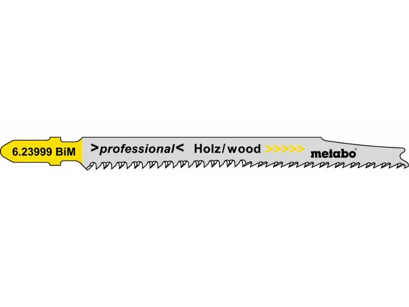 Пилка Metabo T308BF BiM для дерева 5шт 623999000