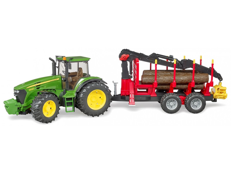 Трактор c прицепом Bruder John Deere 03-054
