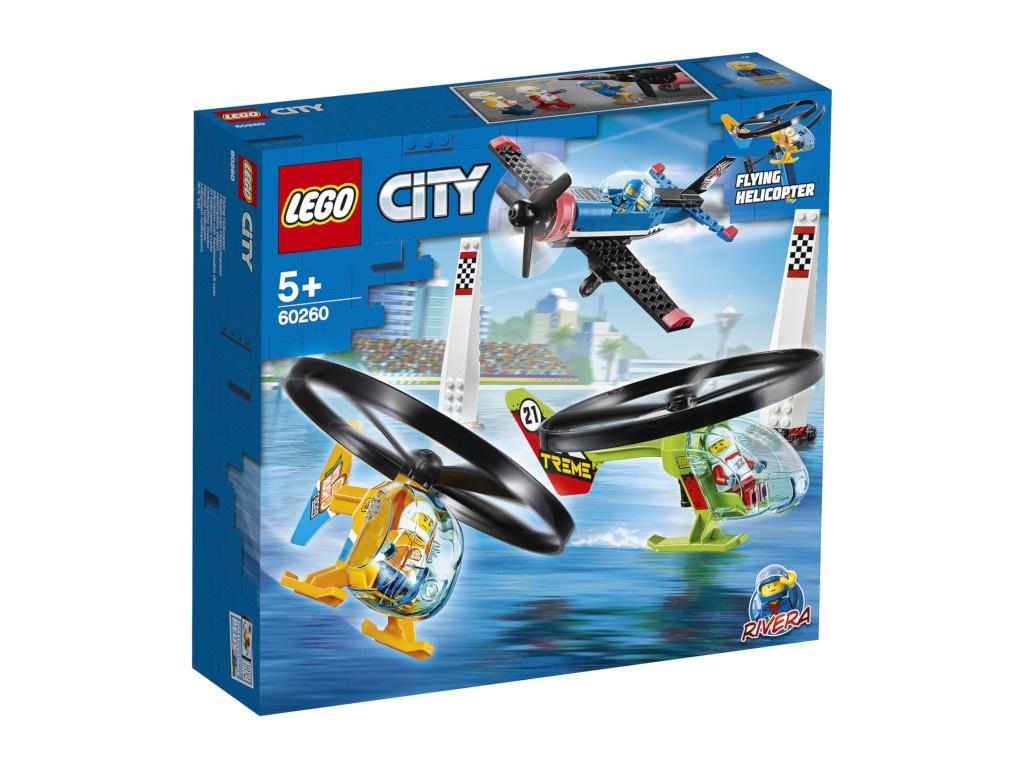 Конструктор Lego City Воздушная гонка 140 дет. 60260