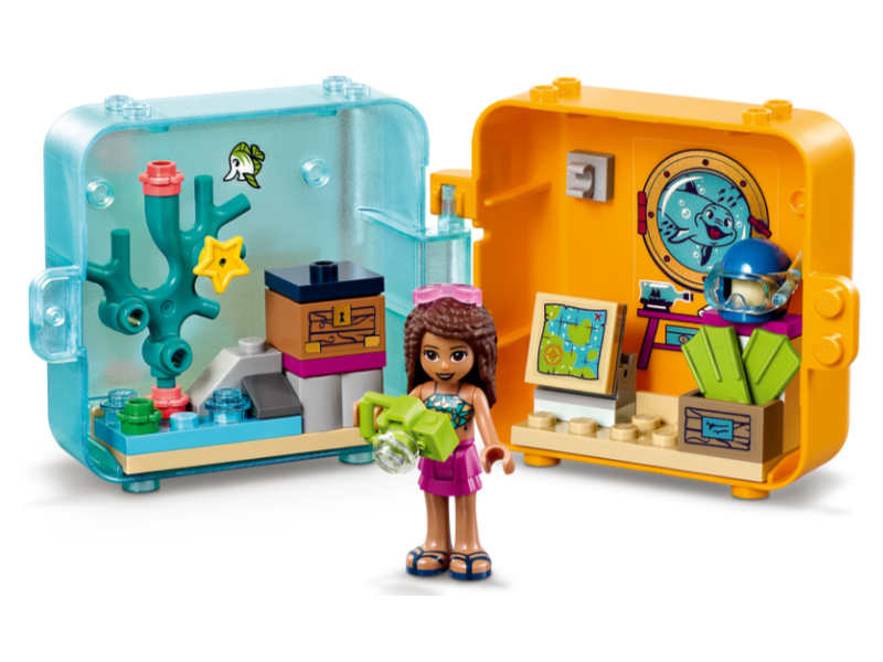 Конструктор Lego Friends Летняя игровая шкатулка Андреа 43 дет. 41410