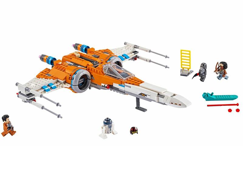 Конструктор Lego Star Wars Истребитель типа Х По Дамерона 761 дет. 75273