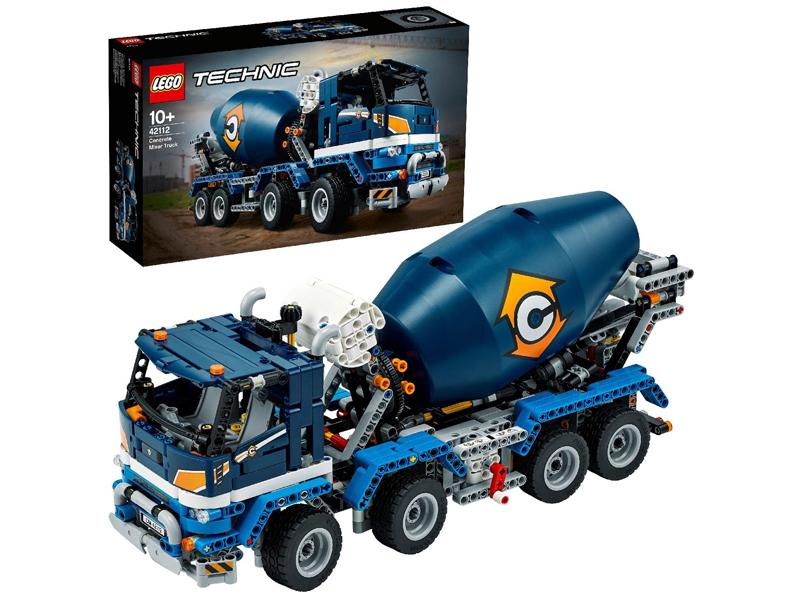 Конструктор Lego Technic Бетономешалка 1163 дет. 42112