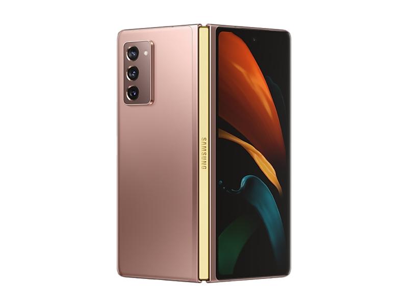 Сотовый телефон Samsung SM-F916B Z Fold 2 12/256Gb Bronze