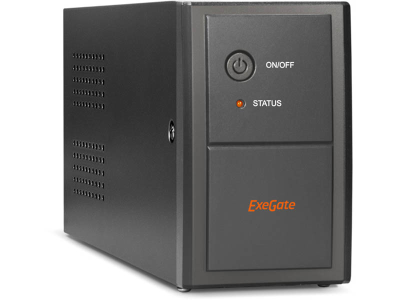 Источник бесперебойного питания ExeGate Power Back BNB-850.LED.AVR.Euro.RJ EP285475RUS