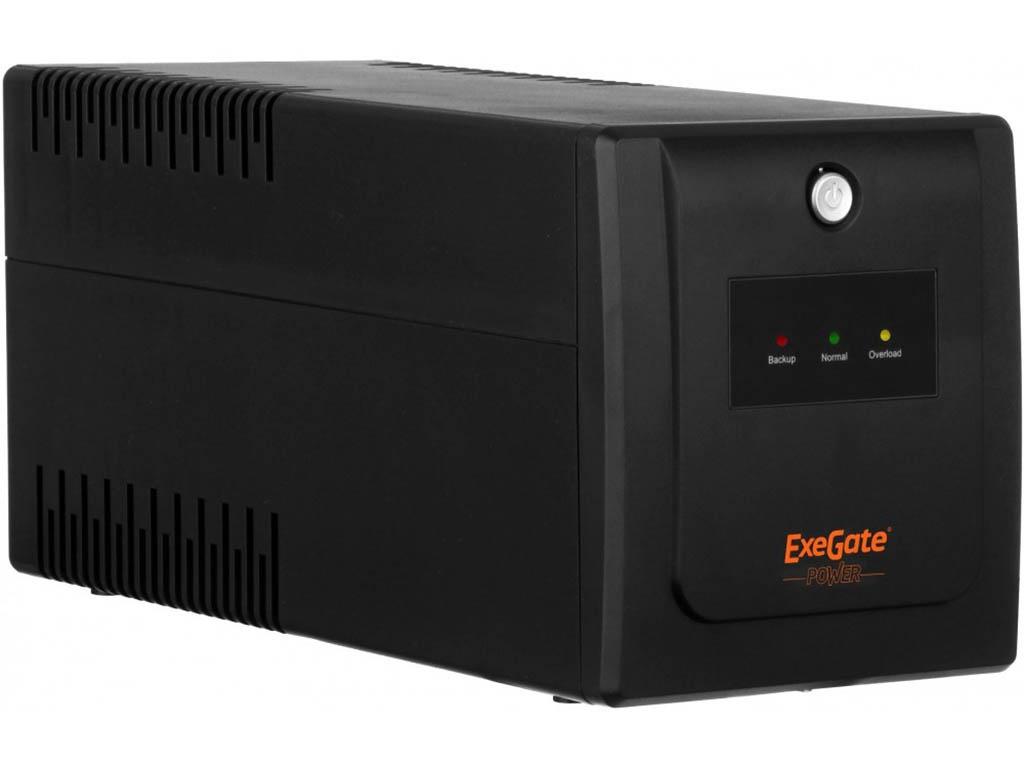 Источник бесперебойного питания ExeGate SpecialPro UNB-650.LED.AVR.EURO EP285601RUS