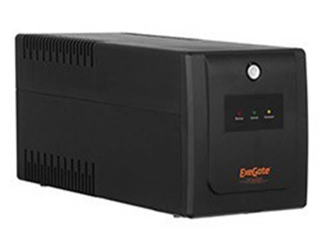 Источник бесперебойного питания ExeGate SpecialPro Smart LLB-1200.LCD.AVR.Euro.RJ.USB EP285494RUS