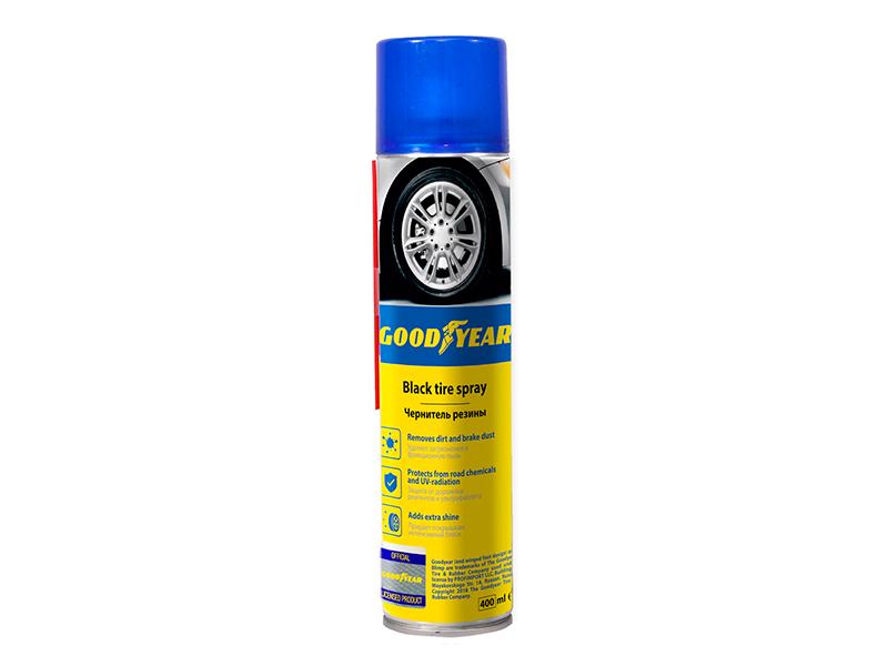 Чернитель резины Goodyear 400ml аэрозоль GY000700