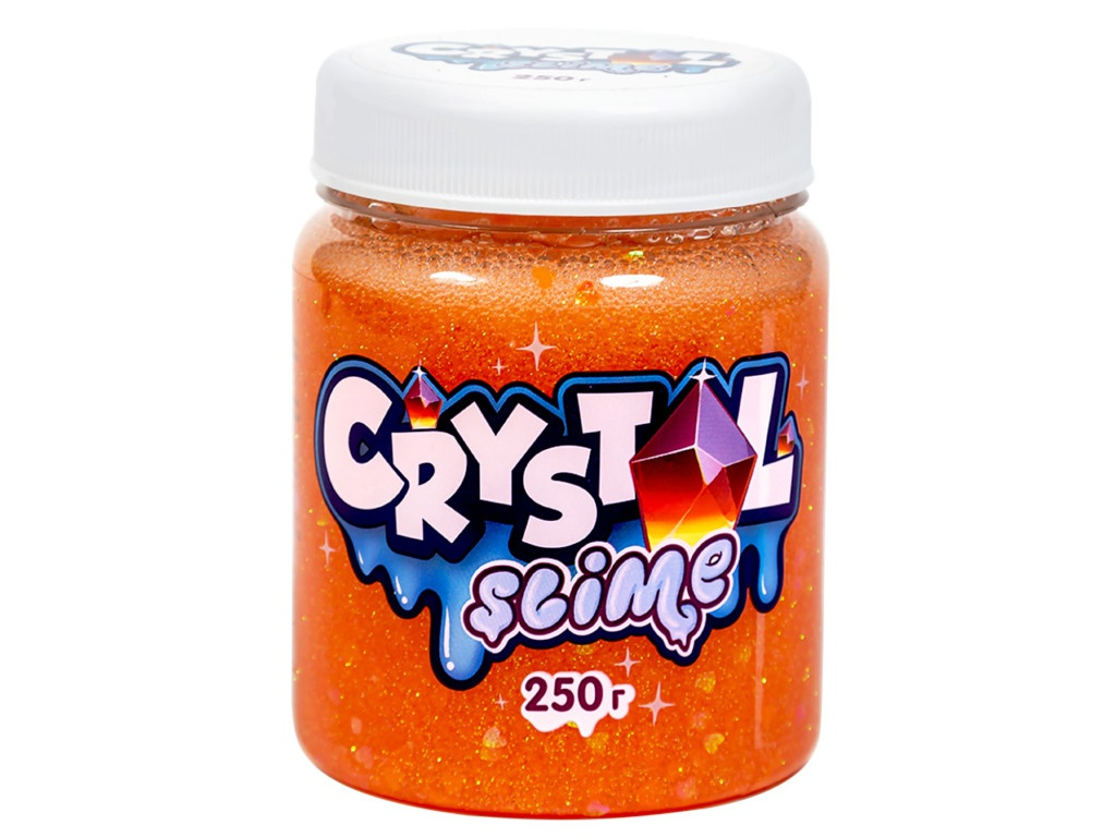 Слайм Slime Crystal 250g Orange S500-10188