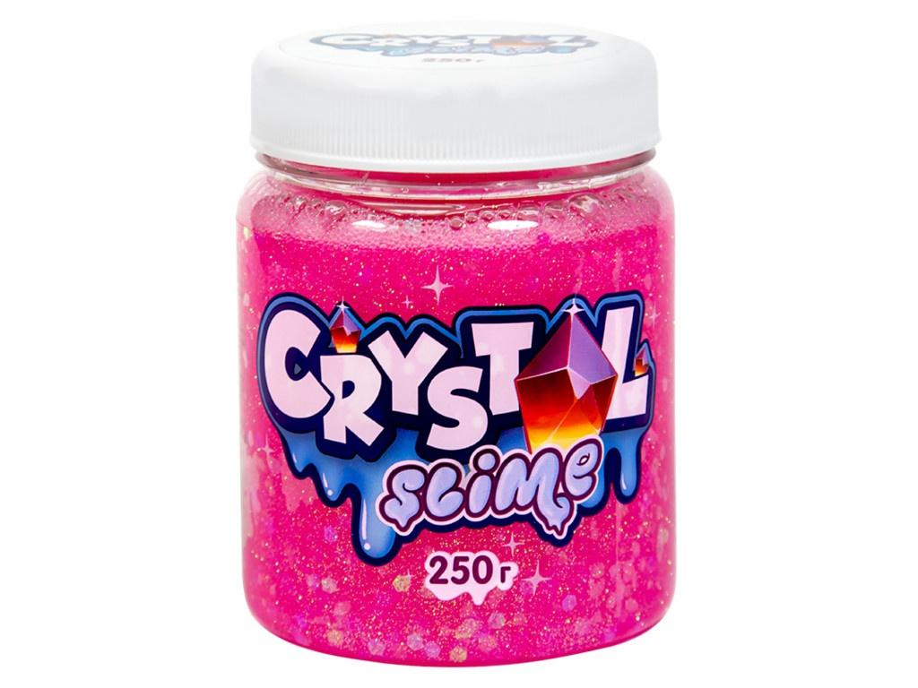 Слайм Slime Crystal 250g Pink S500-20181