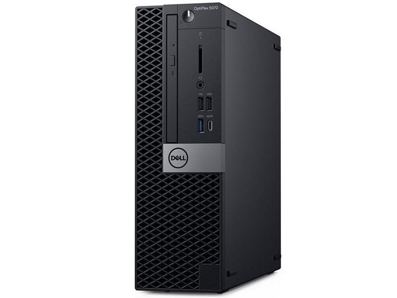 Настольный компьютер Dell Optiplex 5070 SFF 5070-1984 (Intel Core i5-9500 3.0GHz/8192Mb/256Gb SSD/DVD-RW/Intel HD Graphics/Linux) настольный компьютер dell optiplex 5070 sff 5070 1984 intel core i5 9500 3 0ghz 8192mb 256gb ssd dvd rw intel hd graphics linux