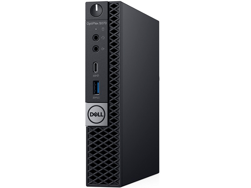 Настольный компьютер Dell Optiplex 5070 Micro 5070-1991 (Intel Core i5-9500T 2.2GHz/8192Mb/256Gb SSD/Intel HD Graphics/Linux) компьютер dell precision 3630 mt intel core i7 8700 3200 mhz 16gb 256gb ssd dvd rw nvidia geforce gtx 1080 10gb dos