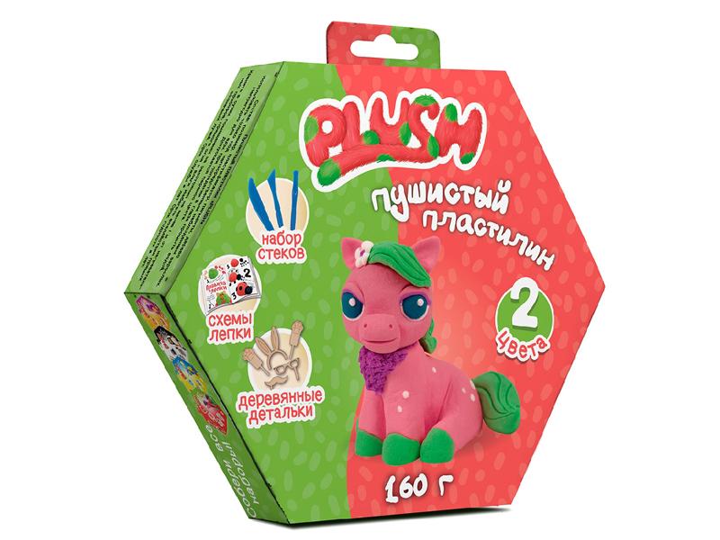 Набор для лепки Plush 160гр Pink/Green PL02201806