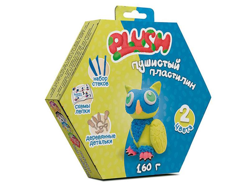 Набор для лепки Plush 160гр Blue/Yellow PL02201815