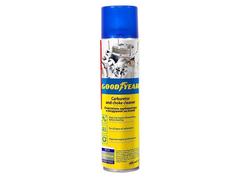 Очиститель карбюратора и воздушной заслонки Goodyear 400ml аэрозоль GY000705