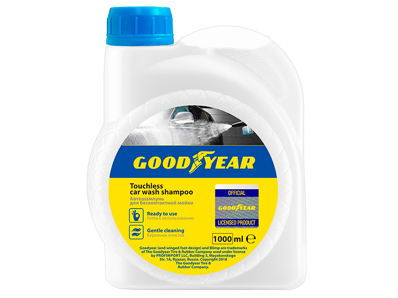 Автошампунь Goodyear 1000ml GY000802
