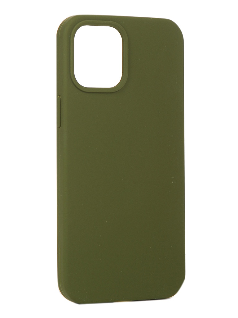 Чехол Innovation для APPLE iPhone 12 Pro Max Silicone Soft Inside Khaki 18032