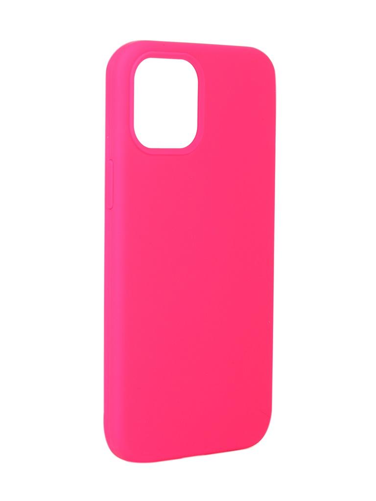Чехол Innovation для APPLE iPhone 12 Pro Max Silicone Soft Inside Pink 18030