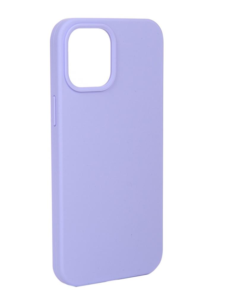 Чехол Innovation для APPLE iPhone 12 Pro Max Silicone Violet 18026