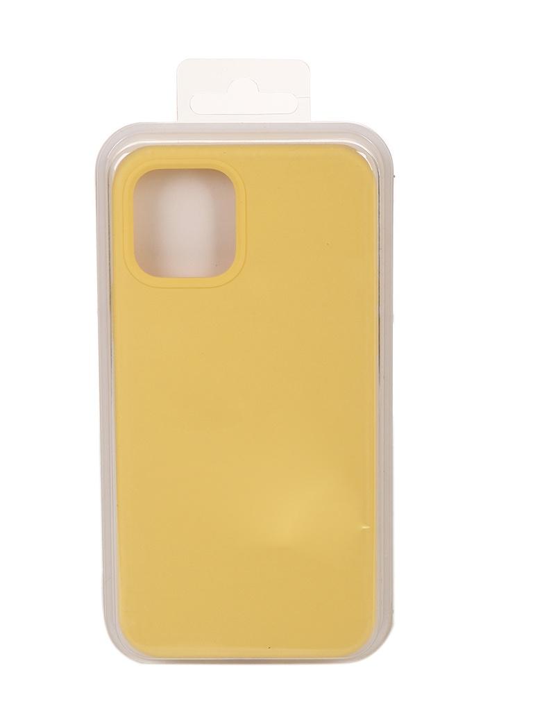 Чехол Innovation для APPLE iPhone 12 Pro / 12 Plus Silicone Soft Inside Yellow 18023 чехол innovation для apple iphone 12 pro 12 plus silicone soft inside black 18019