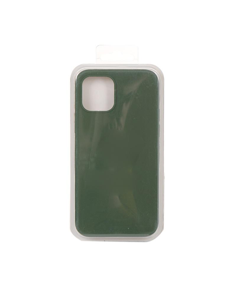 Чехол Innovation для APPLE iPhone 12 Pro / Plus Silicone Soft Inside Khaki 18022