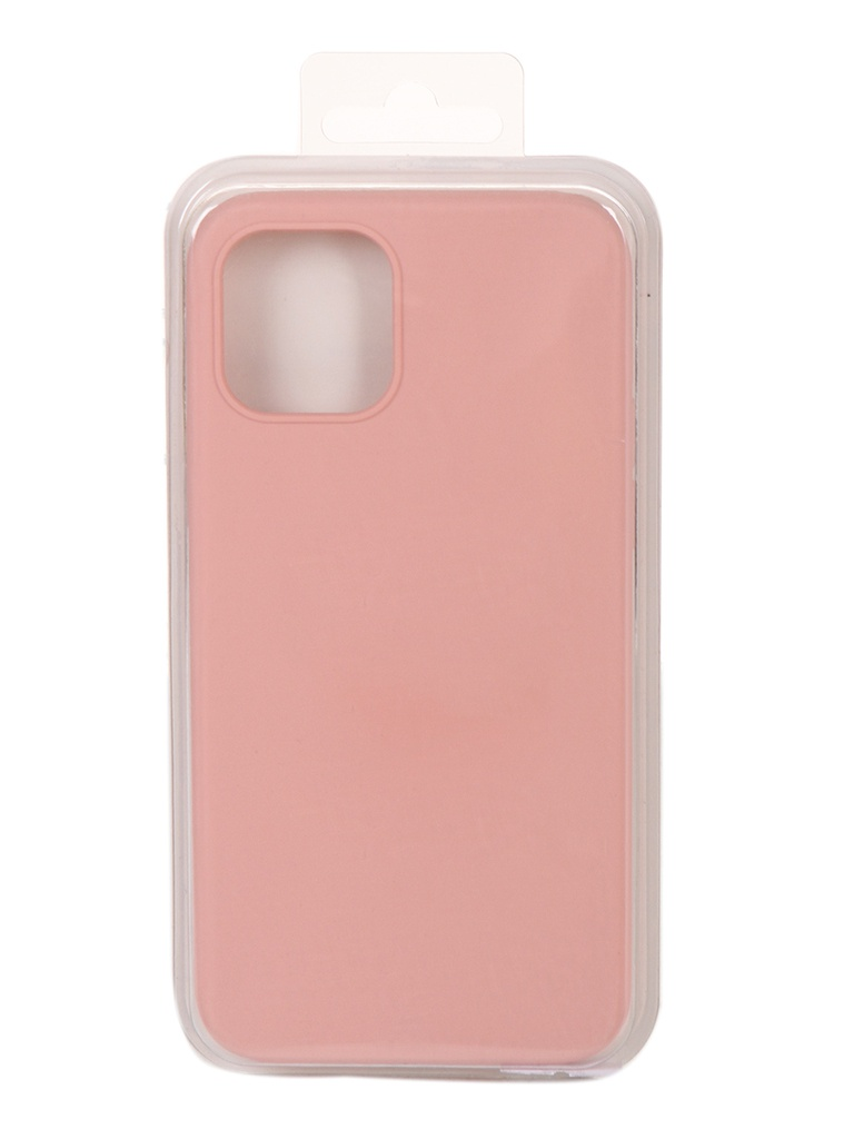 Чехол Innovation для APPLE iPhone 12 Pro / Plus Silicone Soft Inside Pink 18020