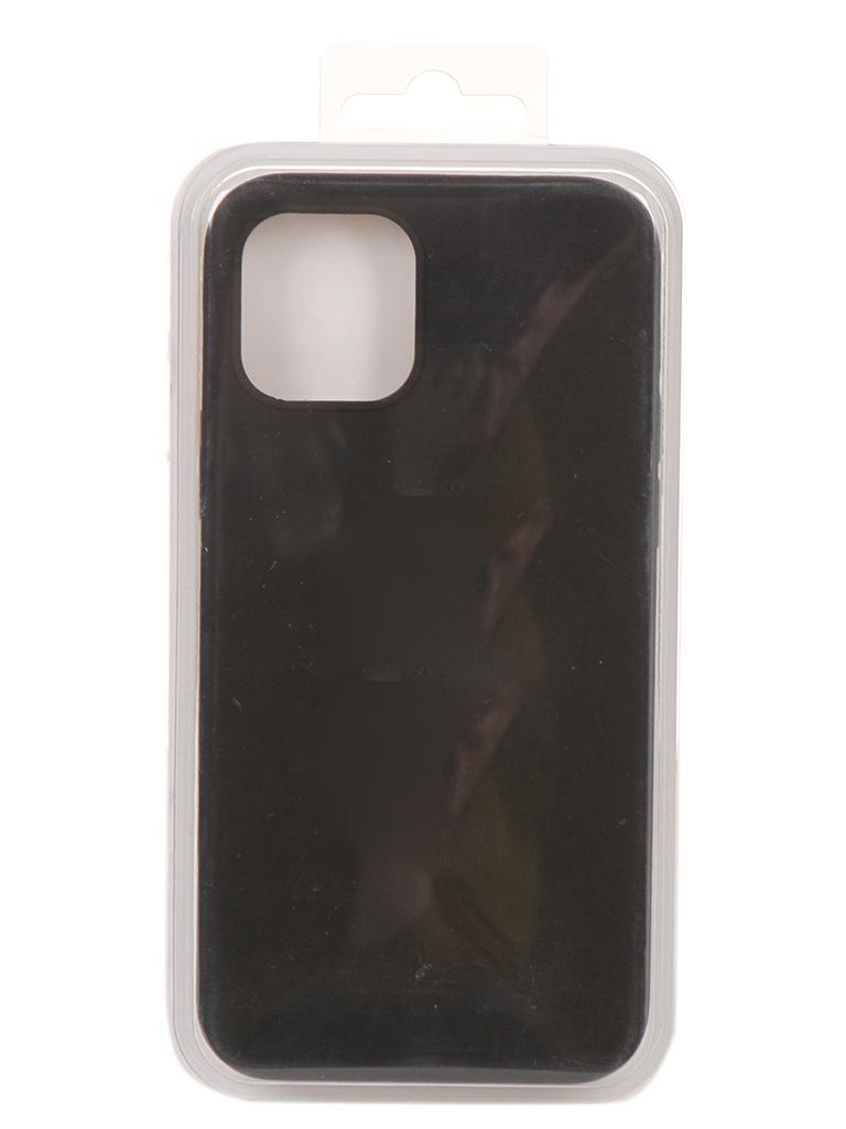 Чехол Innovation для APPLE iPhone 12 Pro / Plus Silicone Soft Inside Black 18019