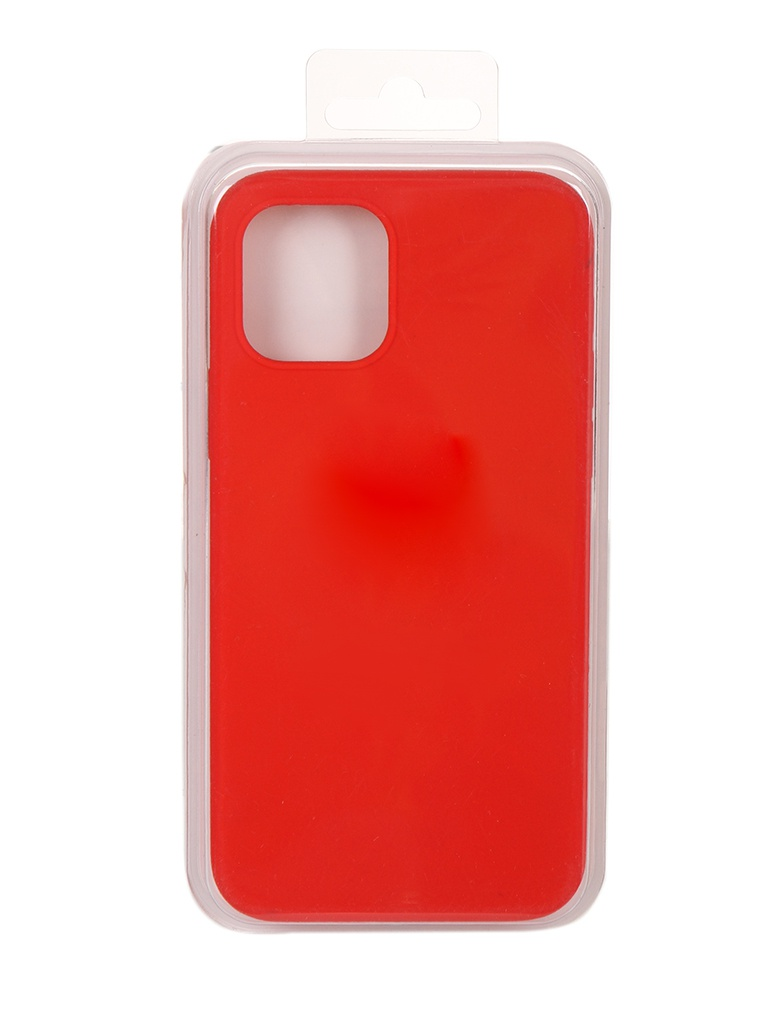 Чехол Innovation для APPLE iPhone 12 Pro / Plus Silicone Soft Inside Red 18017
