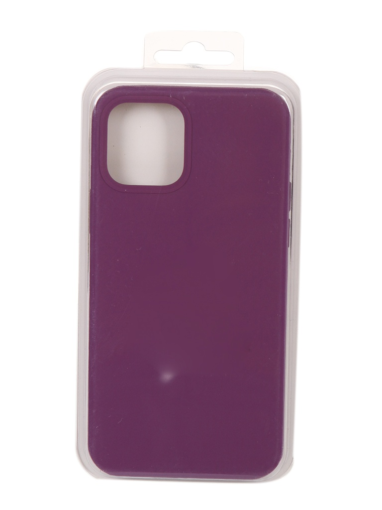 Чехол Innovation для APPLE iPhone 12 Pro / Plus Silicone Violet 18016