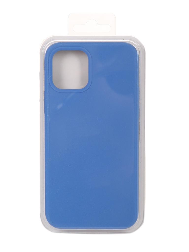 Чехол Innovation для APPLE iPhone 12 Pro / Plus Silicone Soft Inside Blue 18015
