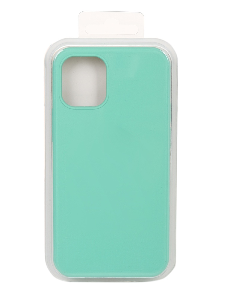 Чехол Innovation для APPLE iPhone 12 Silicone Soft Inside Turquoise 18011