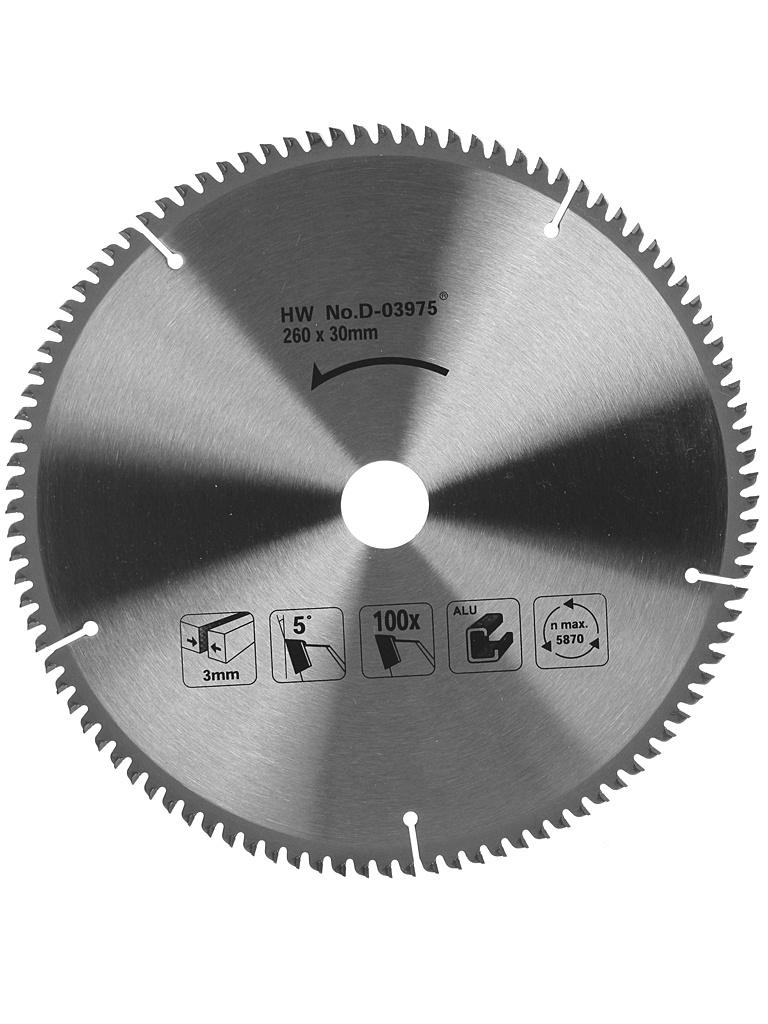 Диск Makita D-03975 пильный по алюминию, 260x1.8x30mm, 70 зубьев