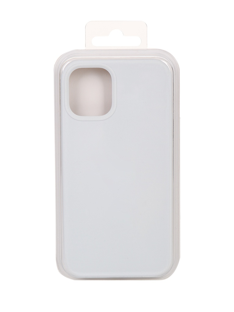 Чехол Innovation для APPLE iPhone 12 Silicone White 18008
