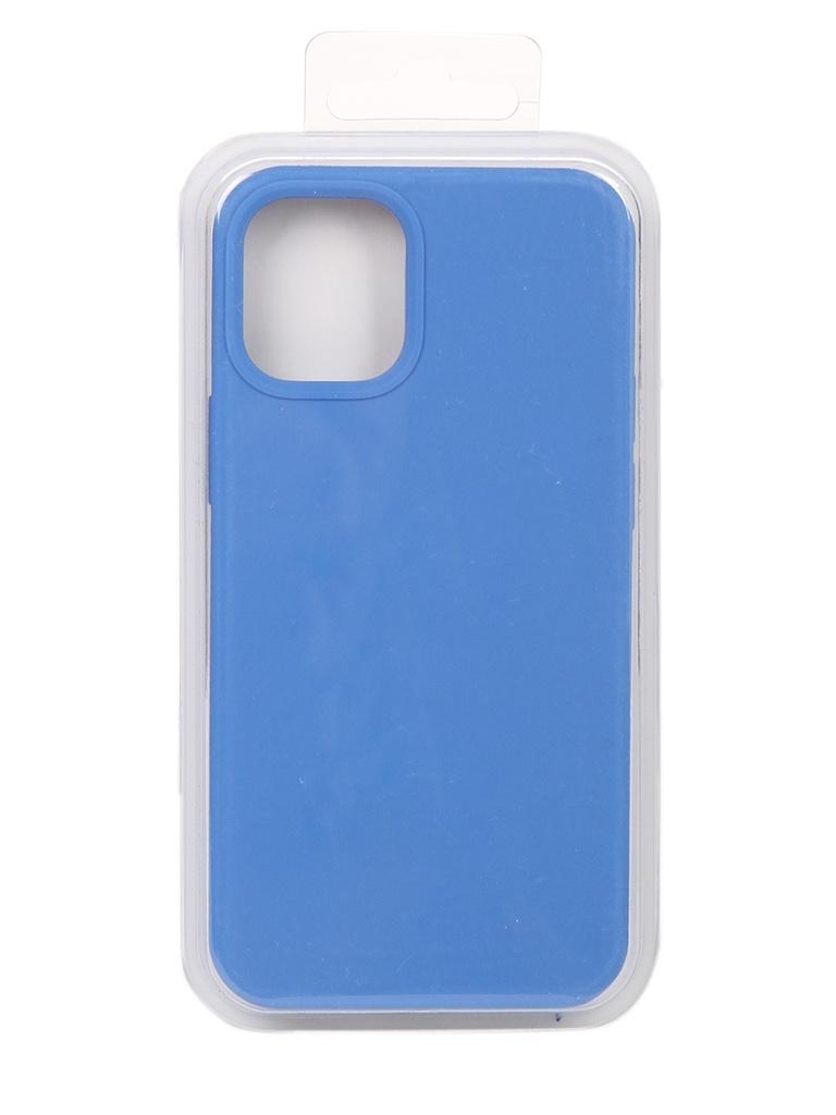 Чехол Innovation для APPLE iPhone 12 Silicone Case Blue 18005