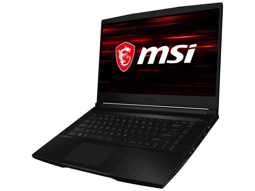 Ноутбук MSI GF63 Thin 9SCXR-605XRU Black 9S7-16R412-605 Выгодный набор + серт. 200Р!!!(Intel Core i7-9750H 2.6 GHz/16384Mb/512Gb SSD/nVidia GeForce GTX 1650 4096Mb/Wi-Fi/Bluetooth/Cam/15.6/1920x1080/DOS) ноутбук lenovo ideapad l340 17irh black 81ll003trk выгодный набор серт 200р intel core i7 9750h 2 6 ghz 8192mb 1000gb 128gb ssd nvidia geforce gtx 1650 4096mb wi fi bluetooth cam 17 3 1920x1080 dos
