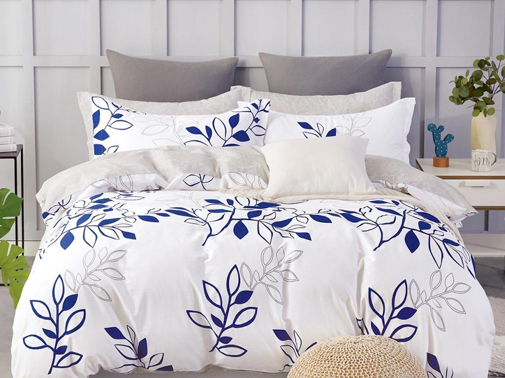 Постельное белье Cleo Satin de Lux 15/597-SK Комплект 1.5-спальный Сатин
