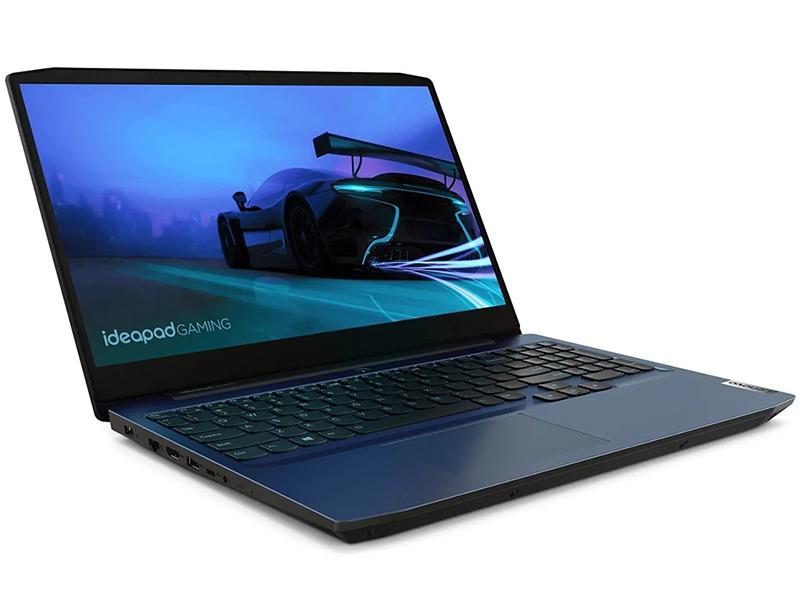 Фото - Ноутбук Lenovo IdeaPad Gaming 3 15IMH05 81Y40099RK (Intel Core i5-10300H 2.5 GHz/8192Mb/512Gb SSD/nVidia GeForce GTX 1650Ti 4096Mb/Wi-Fi/Bluetooth/Cam/15.6/1920x1080/DOS) ноутбук lenovo ideapad gaming l340 15irh intel core i5 9300h 2400mhz 15 6 1920x1080 8gb 128gb ssd 1000gb hdd dvd нет nvidia geforce gtx 1050 3gb wi fi bluetooth dos 81lk009xrk black