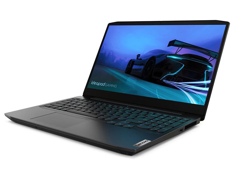 Фото - Ноутбук Lenovo IdeaPad Gaming 3 15IMH05 81Y40097RK (Intel Core i7-10750H 2.6 GHz/8192Mb/512Gb SSD/nVidia GeForce GTX 1650Ti 4096Mb/Wi-Fi/Bluetooth/Cam/15.6/1920x1080/DOS) ноутбук lenovo ideapad gaming l340 15irh intel core i5 9300h 2400mhz 15 6 1920x1080 8gb 128gb ssd 1000gb hdd dvd нет nvidia geforce gtx 1050 3gb wi fi bluetooth dos 81lk009xrk black