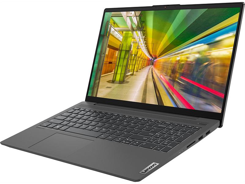 Ноутбук Lenovo IdeaPad 5 15IIL05 81YK00PGRK (Intel Core i5-1035G1 1.0 GHz/16384Mb/512Gb SSD/Intel UHD Graphics/Wi-Fi/Bluetooth/Cam/15.6/1920x1080/DOS)