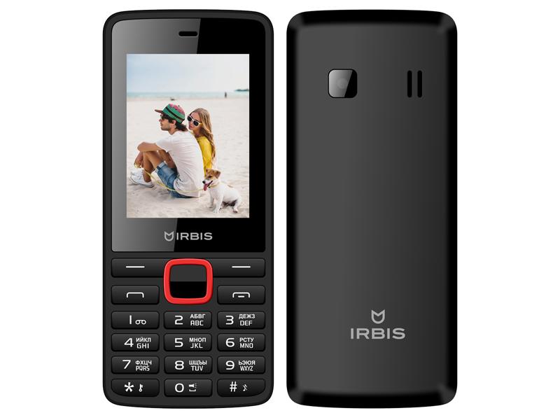 Сотовый телефон Irbis SF09 Black-Red