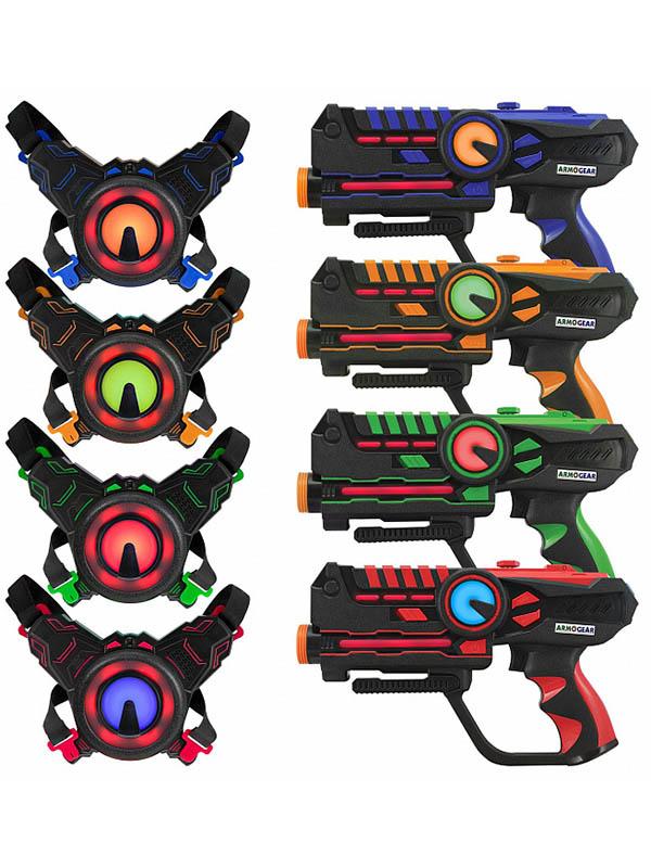 Игровой набор ArmoGear Laser Battle 4 Player Pack ARMOG4