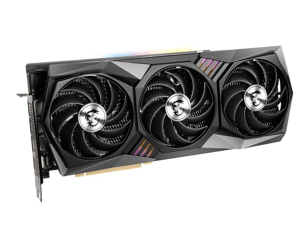 Видеокарта MSI GeForce RTX 3080 1815Mhz PCI-E 4.0 10240Mb 19000Mhz 320-bit HDMI 3xDP HDCP GAMING X TRIO 10G
