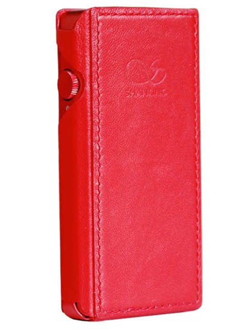 Чехол Shanling для M5s Leather Case Red