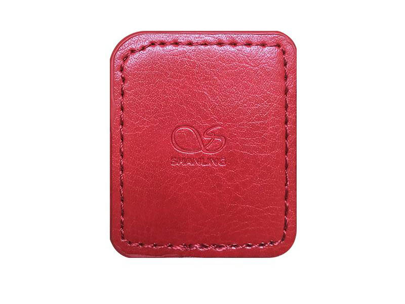 Чехол Shanling для M0 Leather Case Red