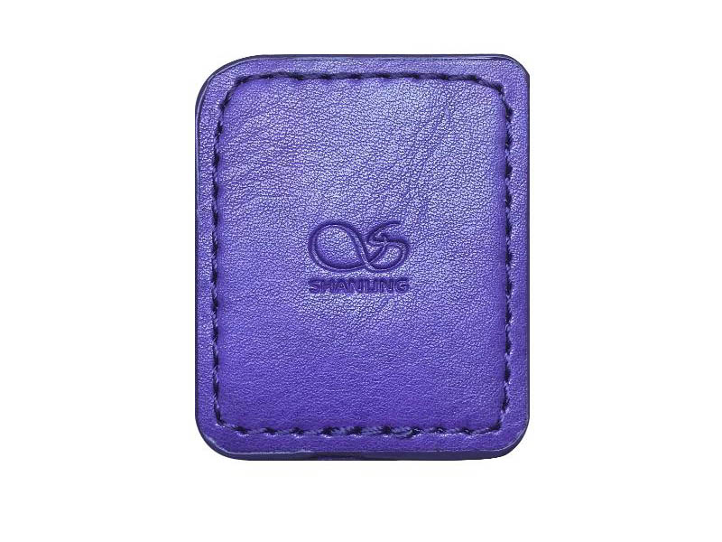 Чехол Shanling для M0 Leather Case Purple