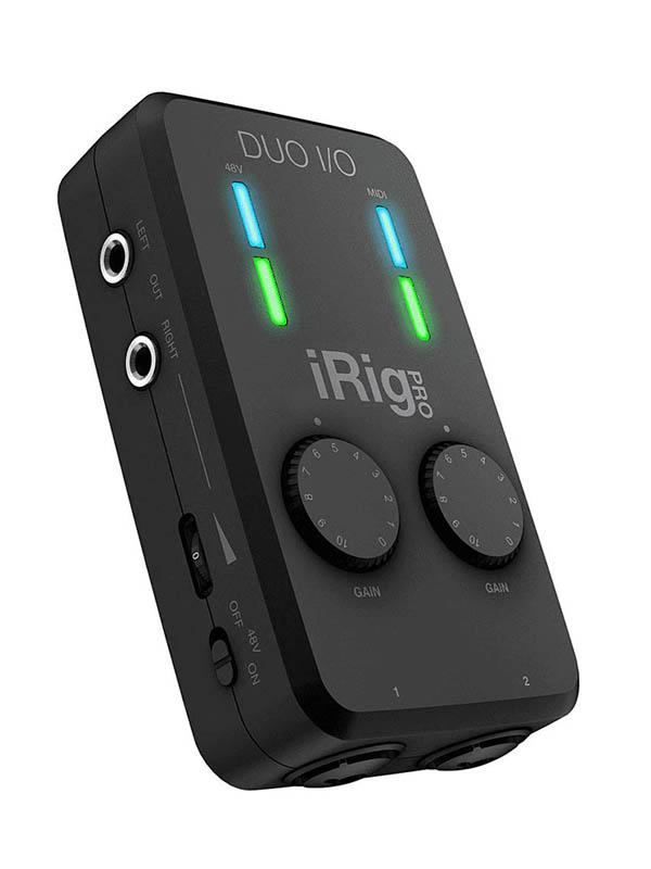 Аудиоинтерфейс IK Multimedia iRig Pro Duo I/O IP-IRIG-PRODUOIO-IN.